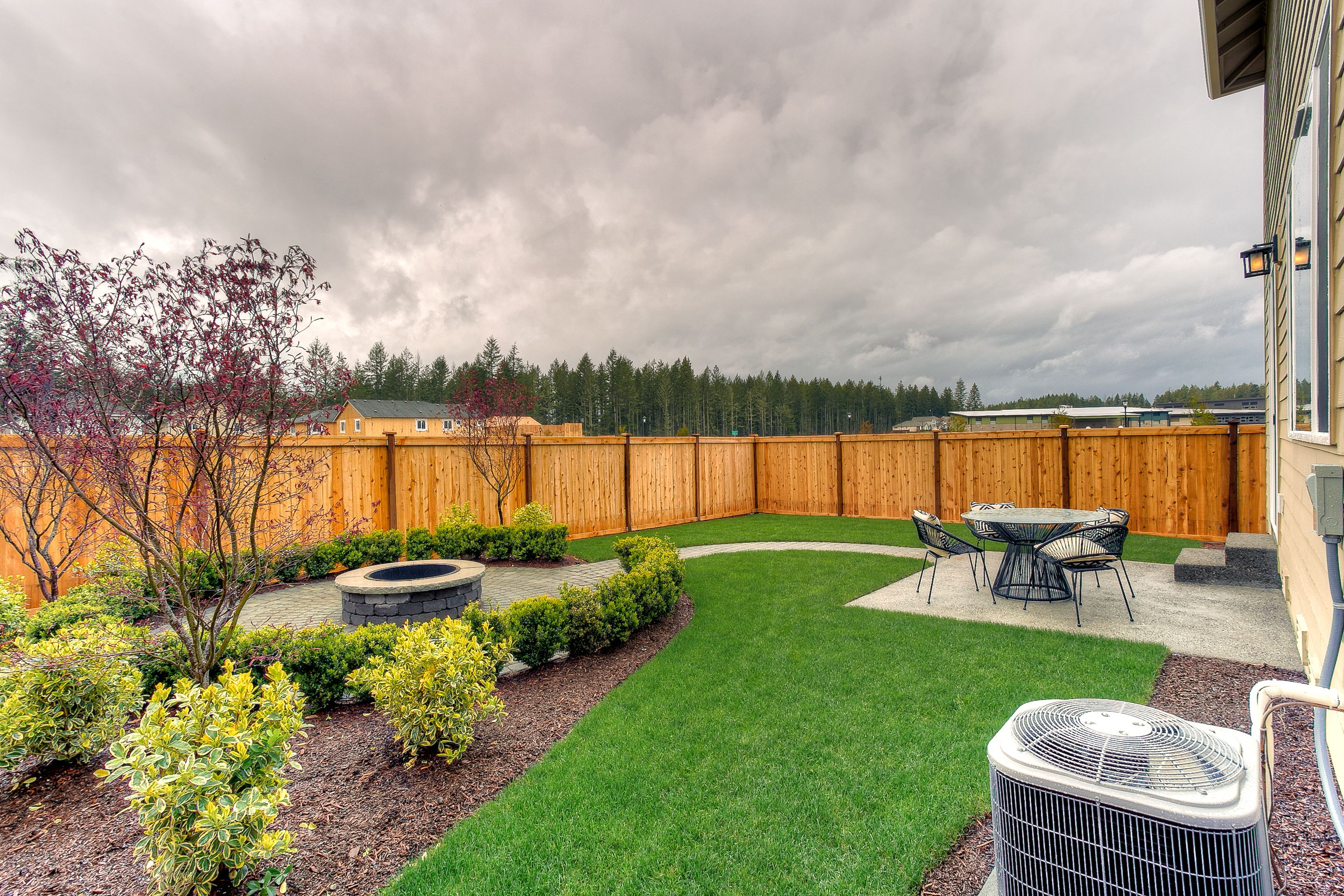 Fully Fenced Backyard In Every Home Built By Lennar Seattle Backyard Fences Backyard Backyard Shade