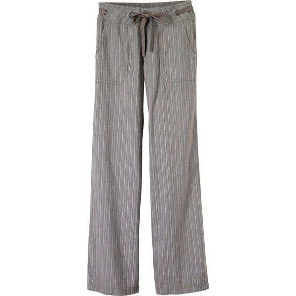 PrAna Steph Pants ($85) ❤ liked on Polyvore featuring pants, grey, grey trousers, grey pants, prana, prana pants and gray pants