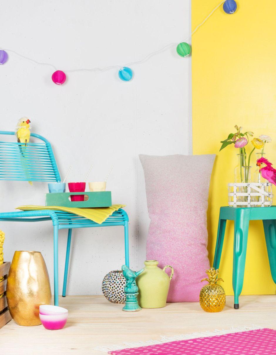 Sommer bei Interio: Entdecke die farbige Nuance-Kollektion