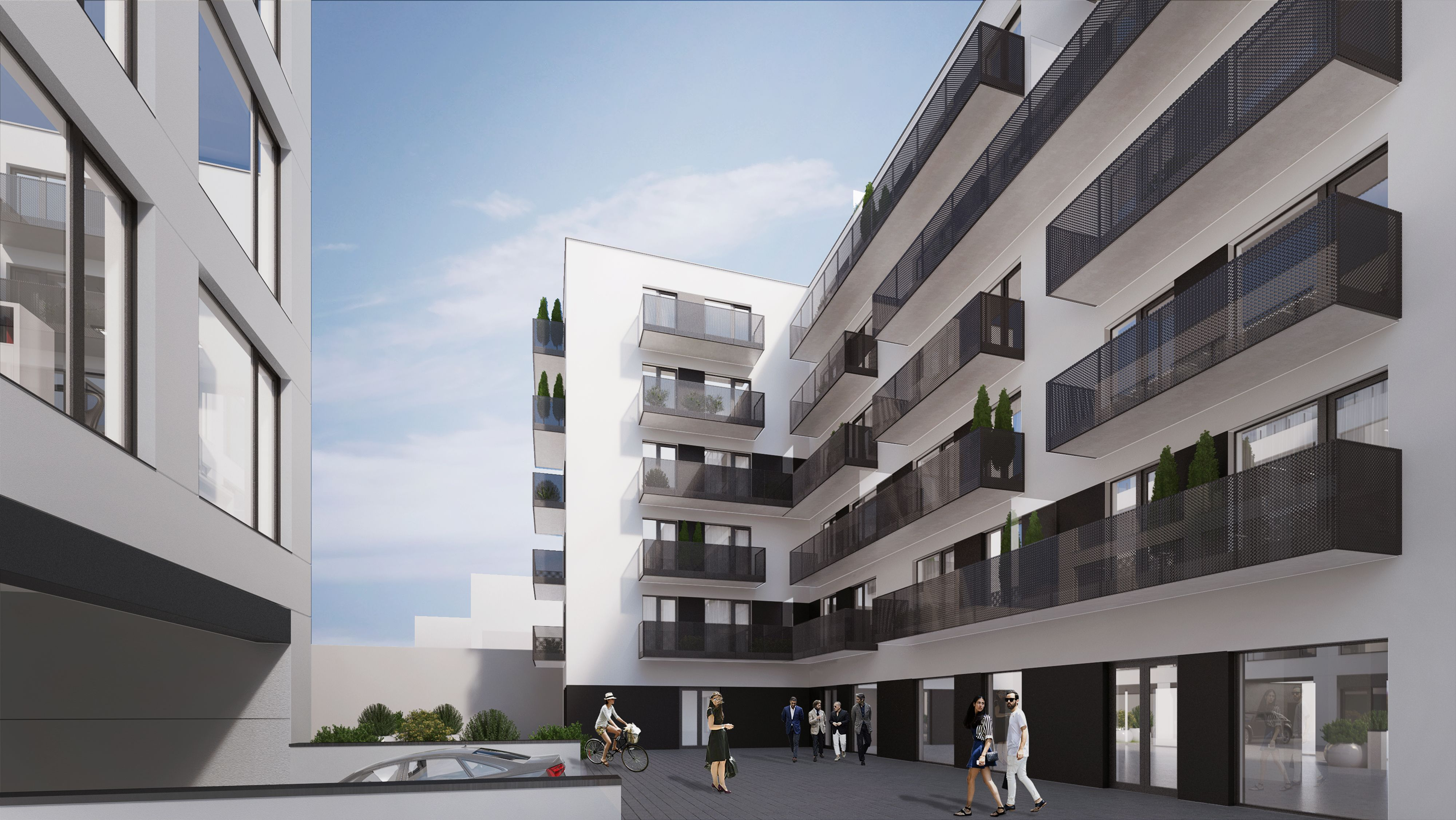MG8 Residence building located in Poznan, Poland. Designed by Easst.com. 2017