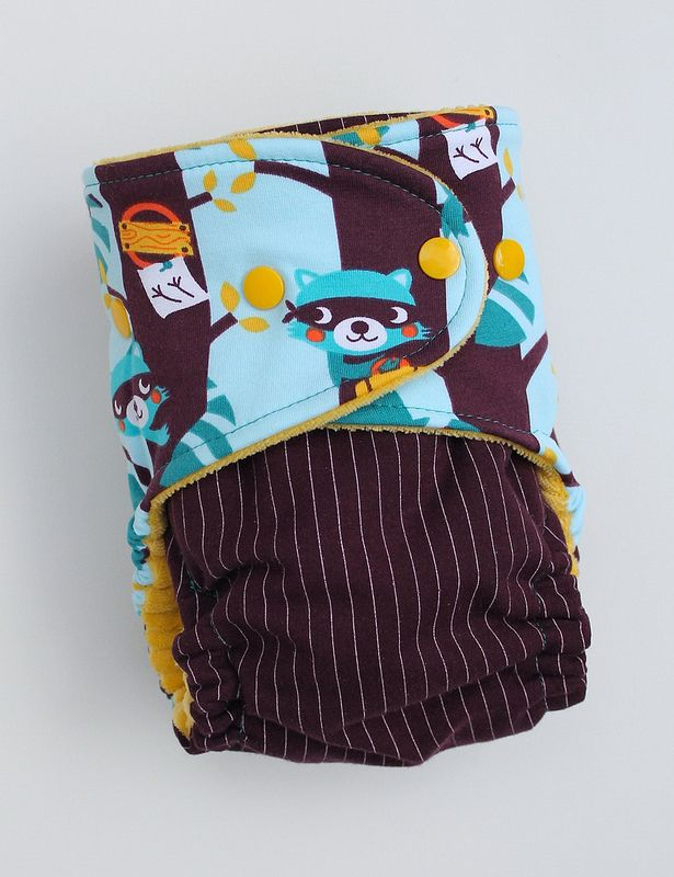 Bandit One-Size Fitted Cloth Diaper