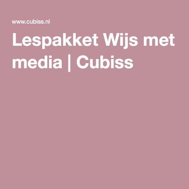 Lespakket Wijs met media | Cubiss