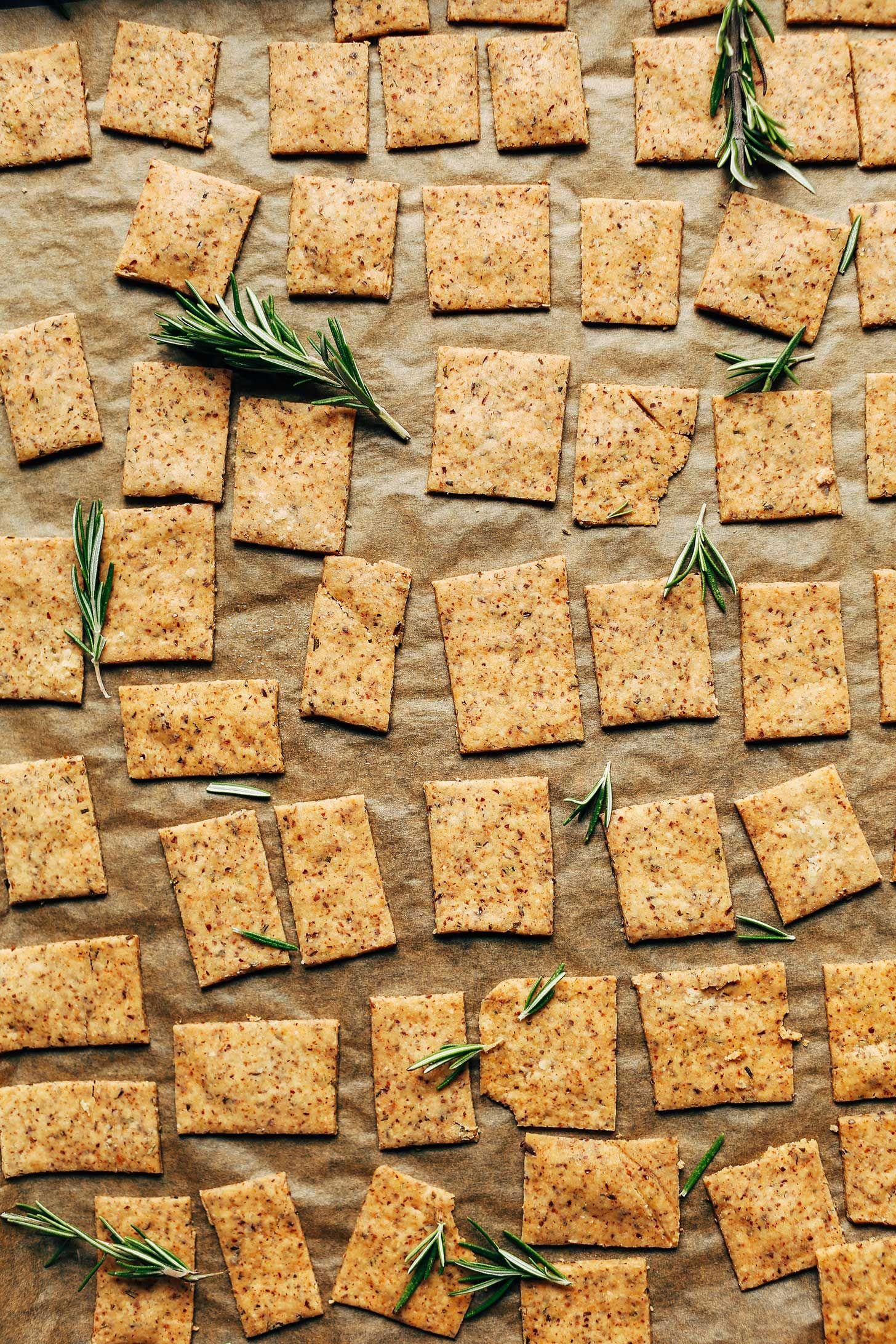 1 Bowl Vegan Gluten Free Crackers Recipe With Images Gluten