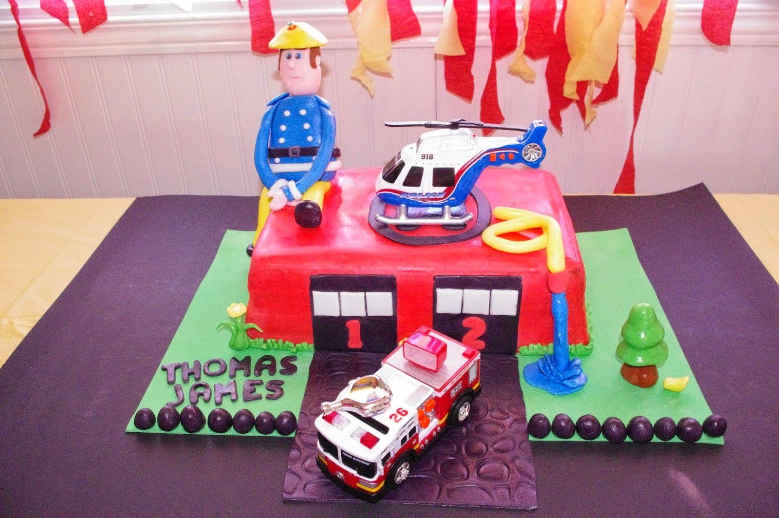 f te de pompier 3 ans g teau fondant sweet table sam le pompier fireman mon blog mes g teaux. Black Bedroom Furniture Sets. Home Design Ideas