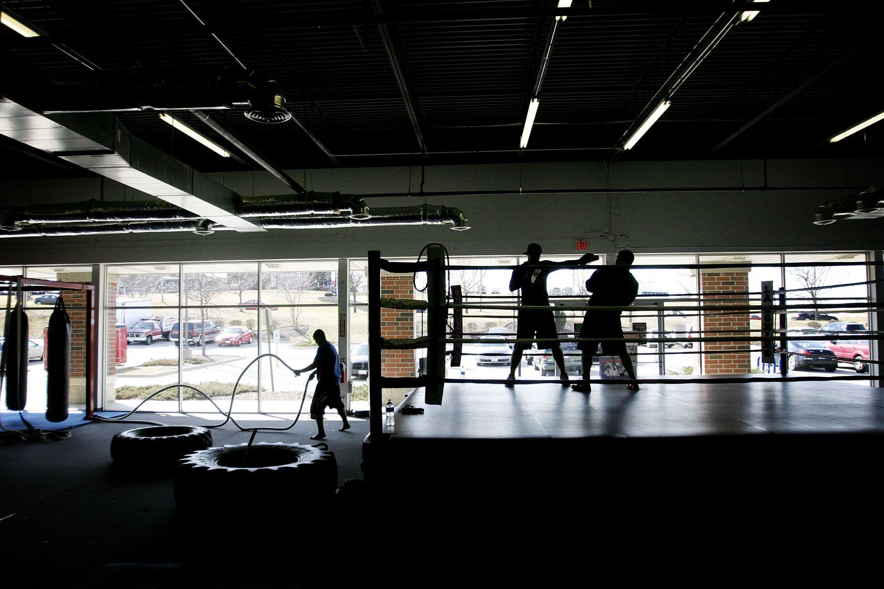 Boxing Gym Wallpaper Training Empty