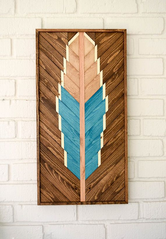 Wall Decoration with Wood