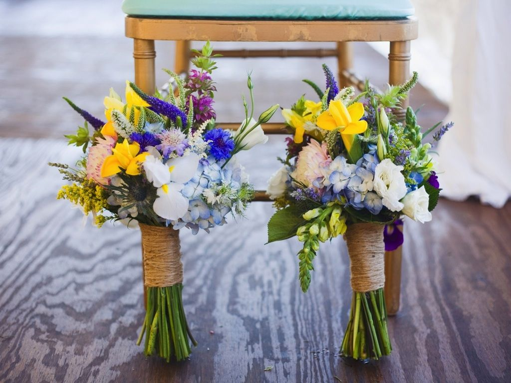 yellow blue purple white wildflower wedding bouquet destination park city waldorf astoria wedding calie rose www
