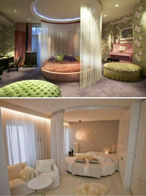 d5a6659c0a Cama redonda | Decor, interior, exterior | Bedroom bed design, Home decor,  Bedroom retreat