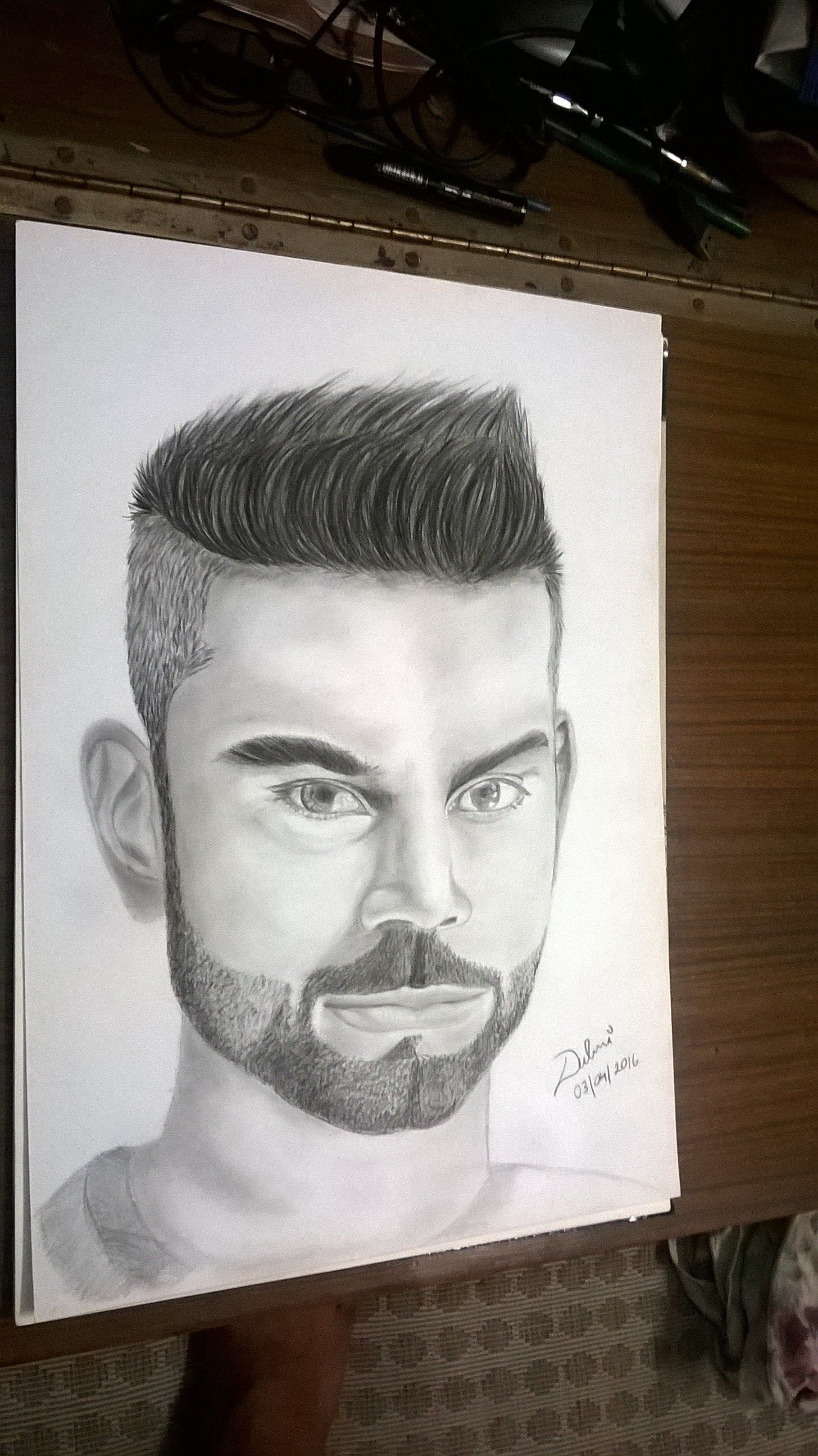 Virat kohli virat kohli drawing virat kohli sketch virat kohli portrait virat kohli artwork contact me for art and design related stuff charcoal