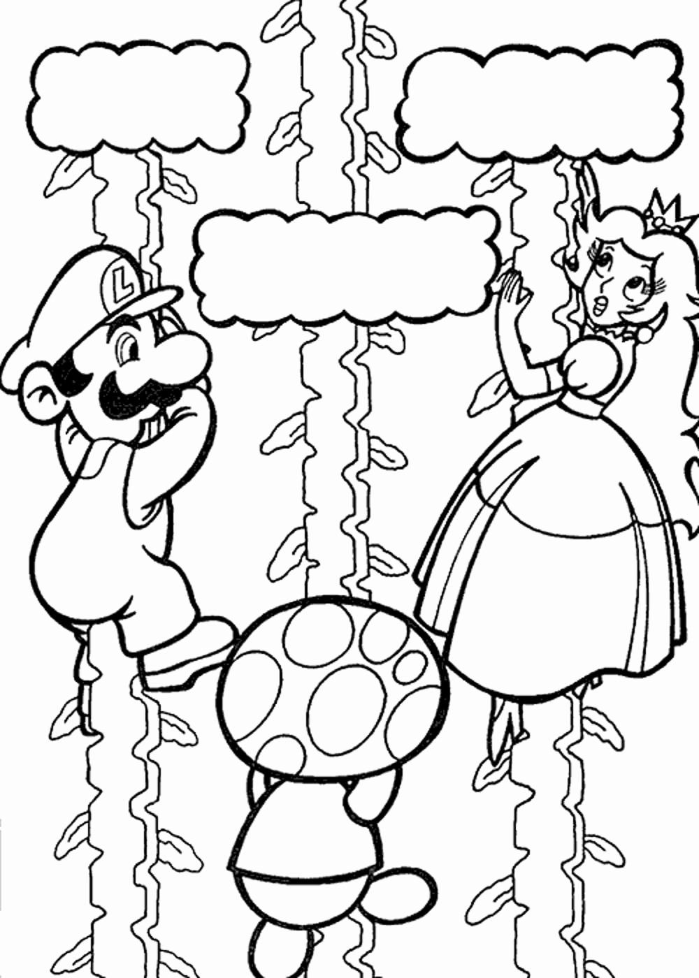 28 Super Mario Coloring Book In 2020 Mario Coloring Pages Super