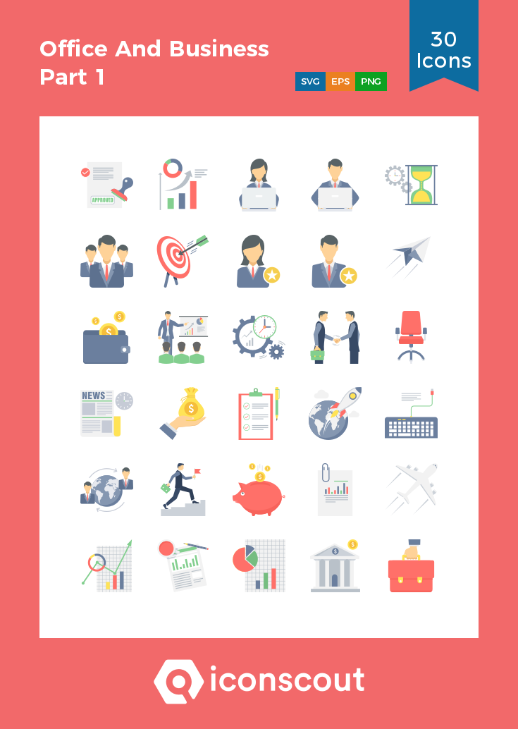 Download Office And Business Part 1 Icon Pack Available In Svg Png Eps Ai Icon Fonts Icon Pack Business Icon Icon