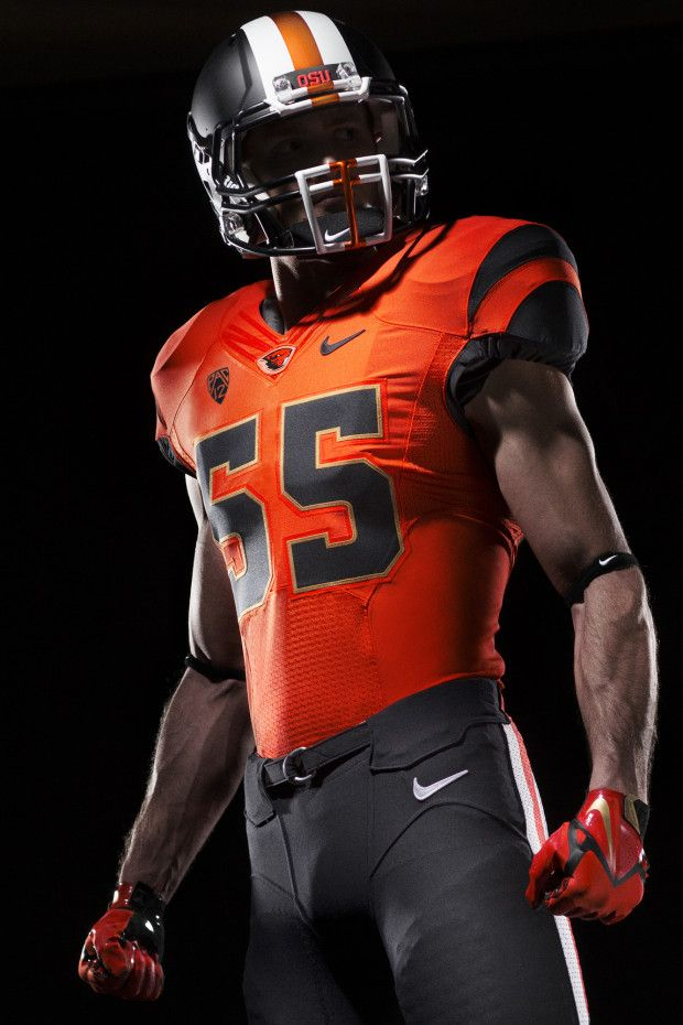 d66c7c40a 2013 Oregon State Orange on Black Unis