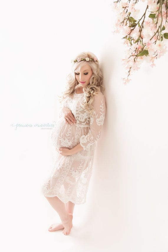 32ddcb783c8 RTS LACE MATERNITY dress for photo shoot  by babyportraitpropshop ...