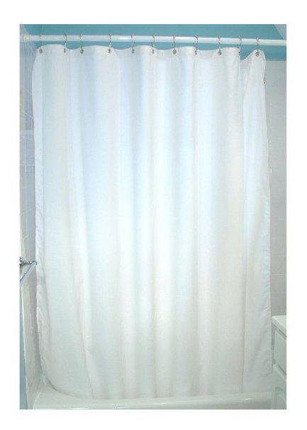 Amazon Com Natural Cotton Shower Curtain Hemp Shower Curtain