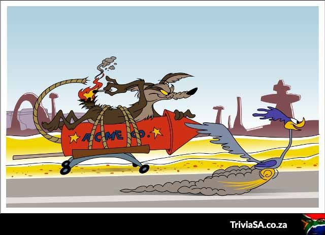 Meep! Meep! Road runner's typical top speed = 32km/h; Coyote's ...