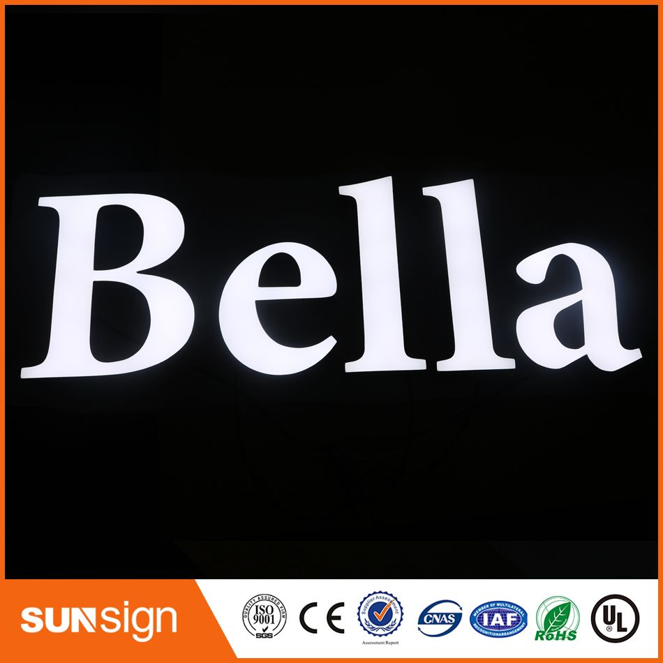 Metal Sign Letters Wholesale Wholesale Metal Letter Signs Led Channel Signs Stainless Steel