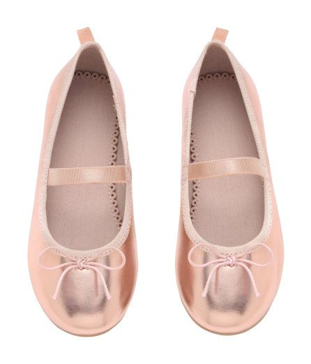 87fefa3be88 Ballet Flats with Strap