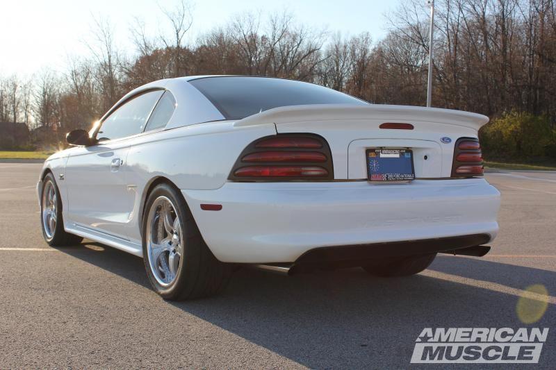 Speedform Mustang Saleen S281 Style Rear Spoiler Unpainted 94013 94 98 All Sn95 Mustang Mustang Saleen Mustang