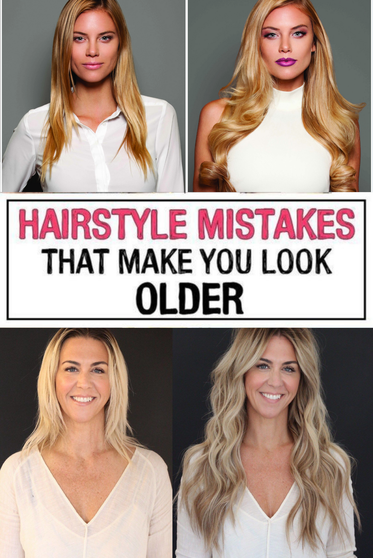 37 Hairstyle Mistakes That Are Aging You In 2020 Hair Mistakes Mom Hairstyles Hairstyle