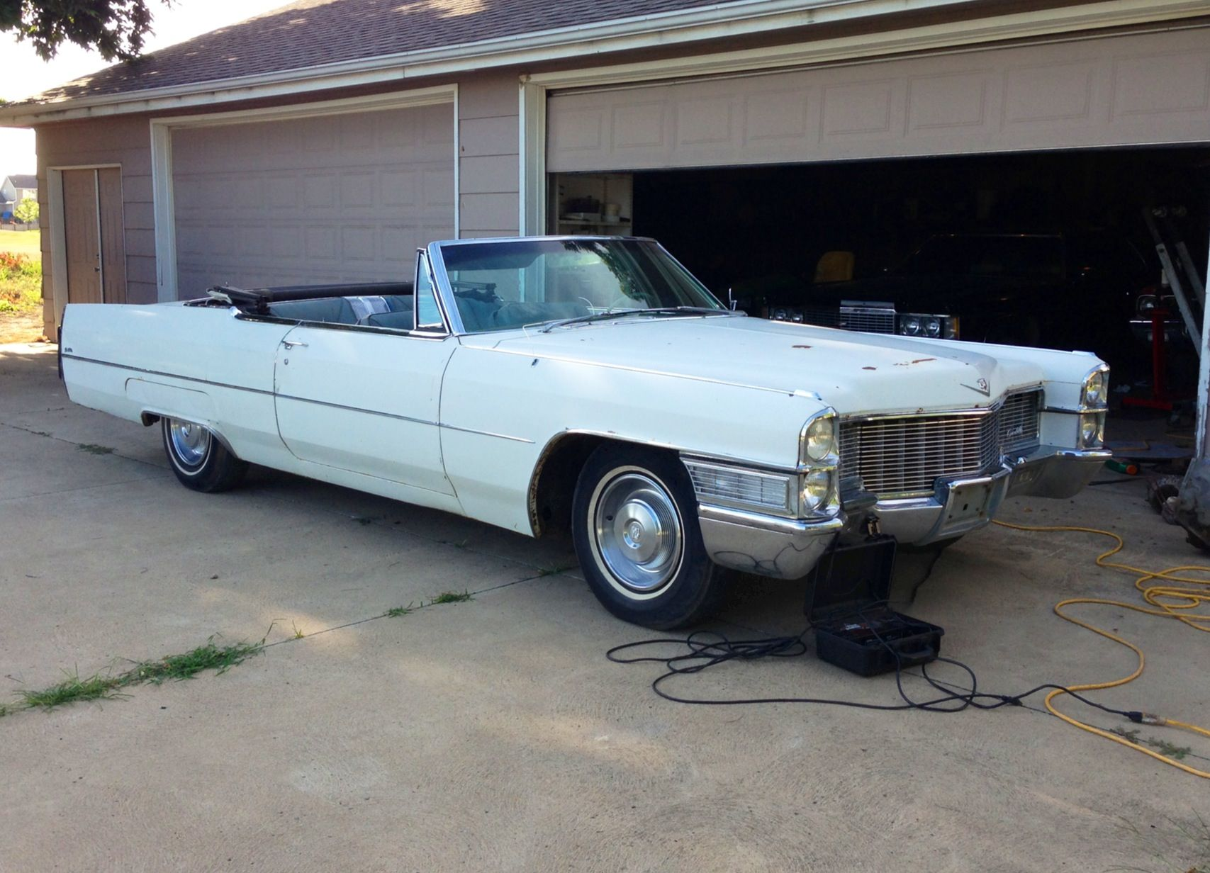 1965 Cadillac Deville Convertible 429 Engine For Sale Cadillac