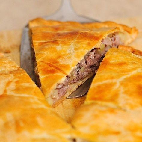 Татарский пирог с мясом и картошкой *Кубете*  - Перчинка хозяюшка