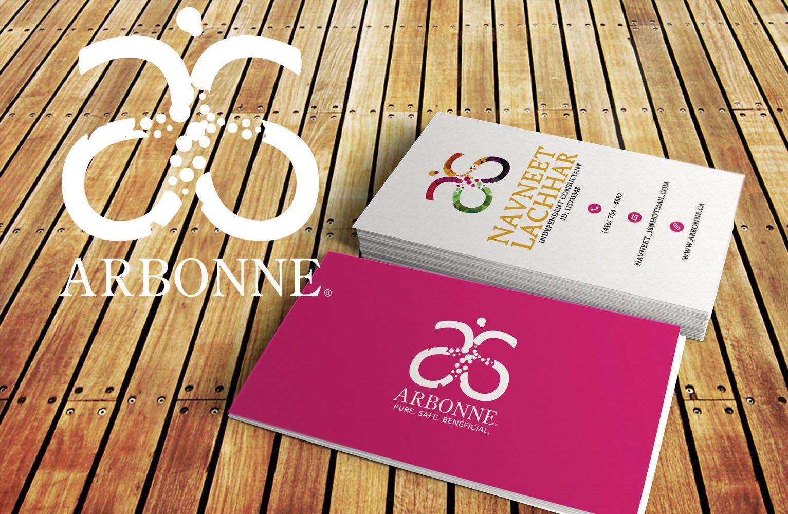 Arbonne Ankit Designs Arbonne Business Cards Business Card Design Business Card Template