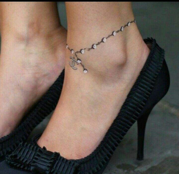 3d Anklet Like This Enkelband Tatoeages Enkelbandje Tatoeages Diamanten Tatoeages