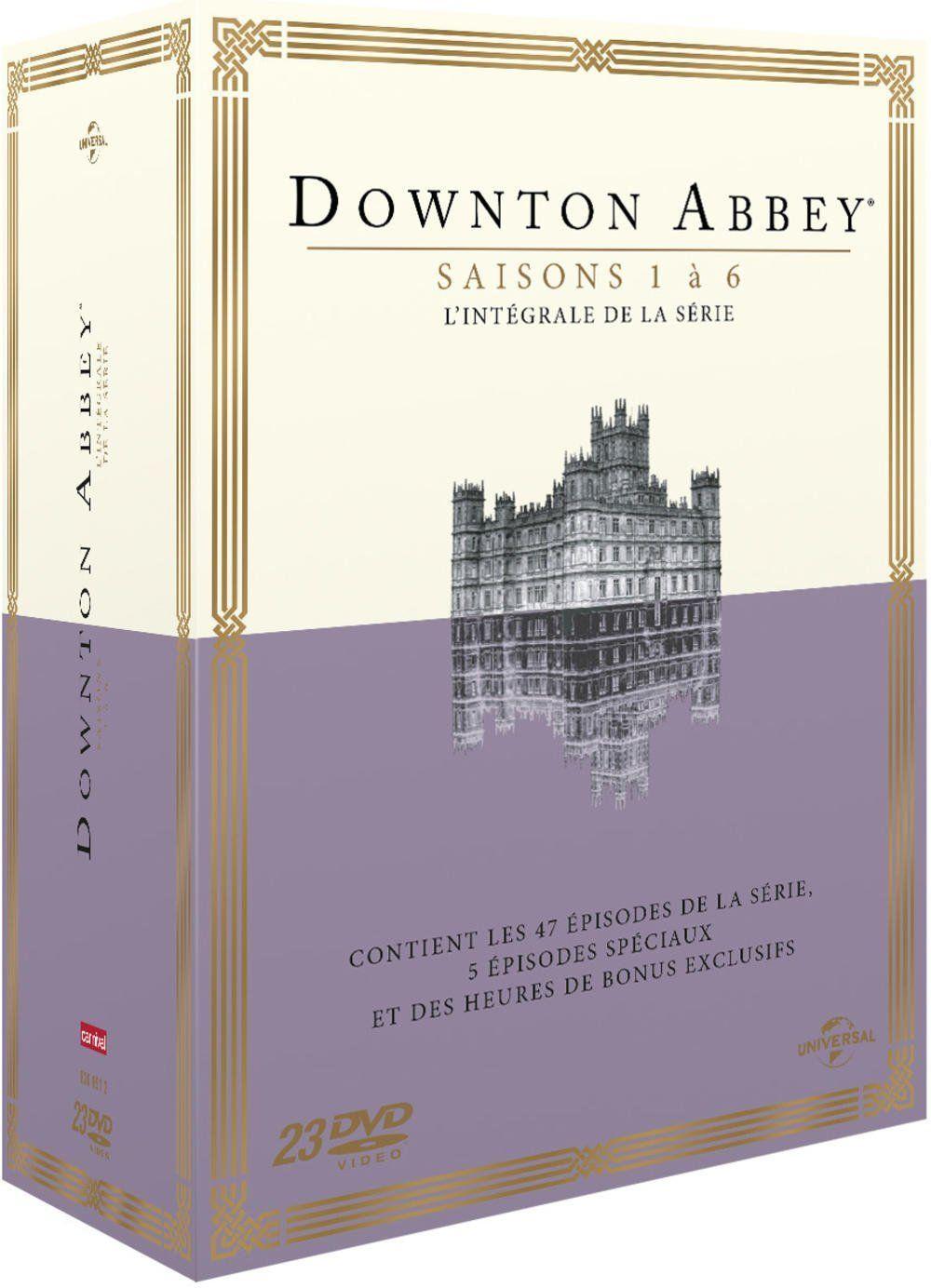 Downton Abbey Saisons 1 A 6 L Integrale De La Serie Dvd Blu