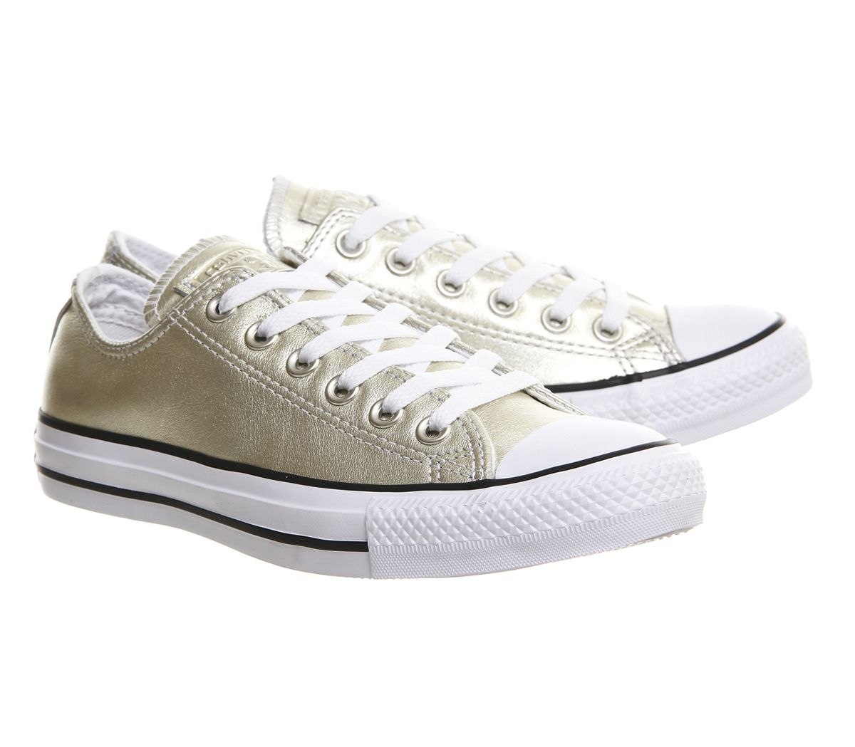 Converse Sneakers All Star Low Leather New Gold