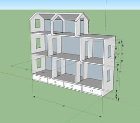 """Semi planning stages of a large dollhouse 18"""" dolls and could use some plan help and general advice Questions in ments"""