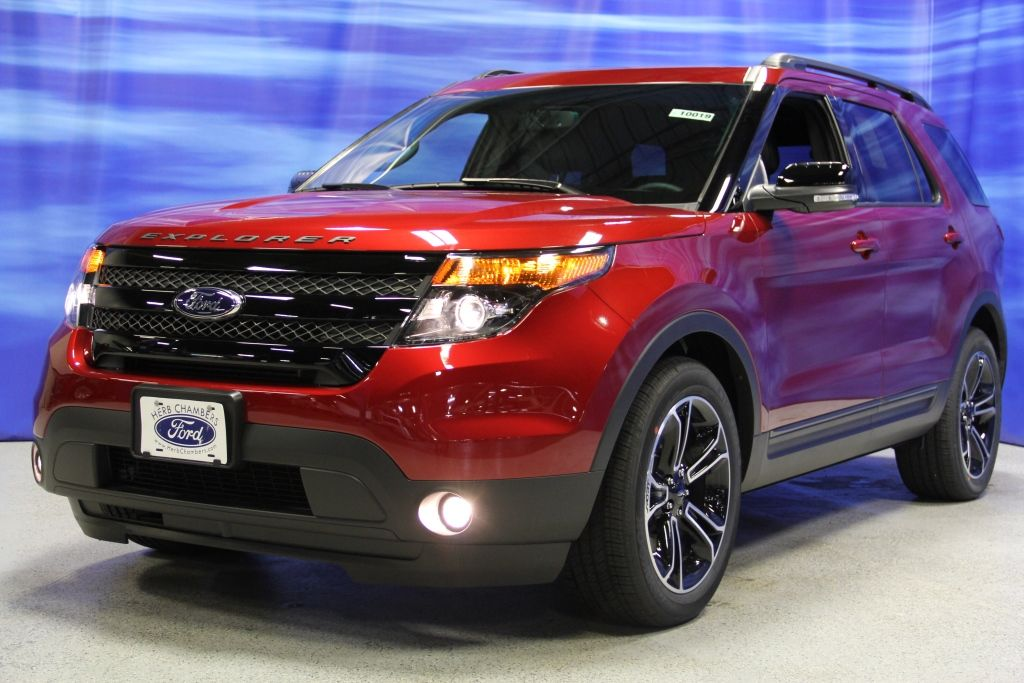 ford explorer 2015 red Ford explorer sport