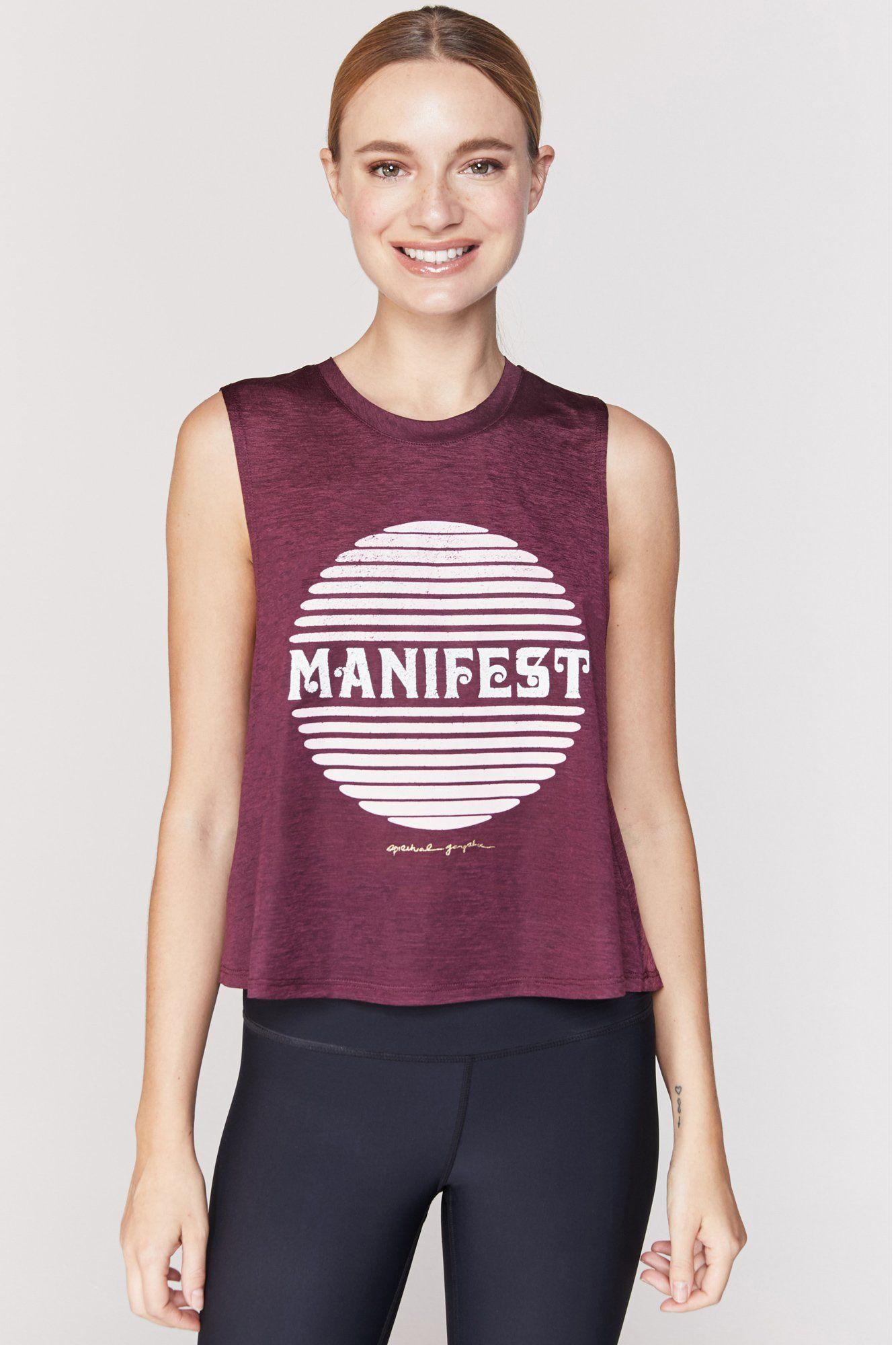 Manifest active crop tank Crop tank, Athleisure outfits