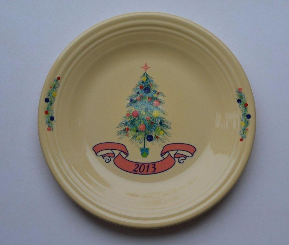 2013 CHRISTMAS TREE DINNER PLATE NWT ~ Contemporary Fiesta Ware & 2013 CHRISTMAS TREE DINNER PLATE NWT ~ Contemporary Fiesta Ware ...