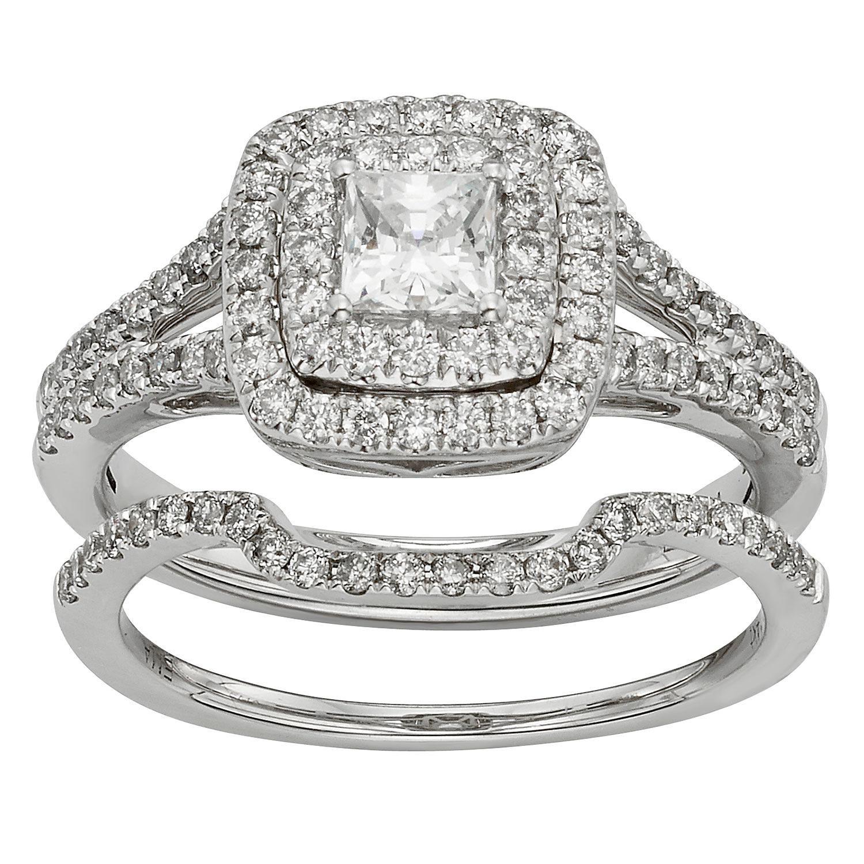 1.0 CT. T.W. Diamond Bridal Set in 14K Gold Sam's Club