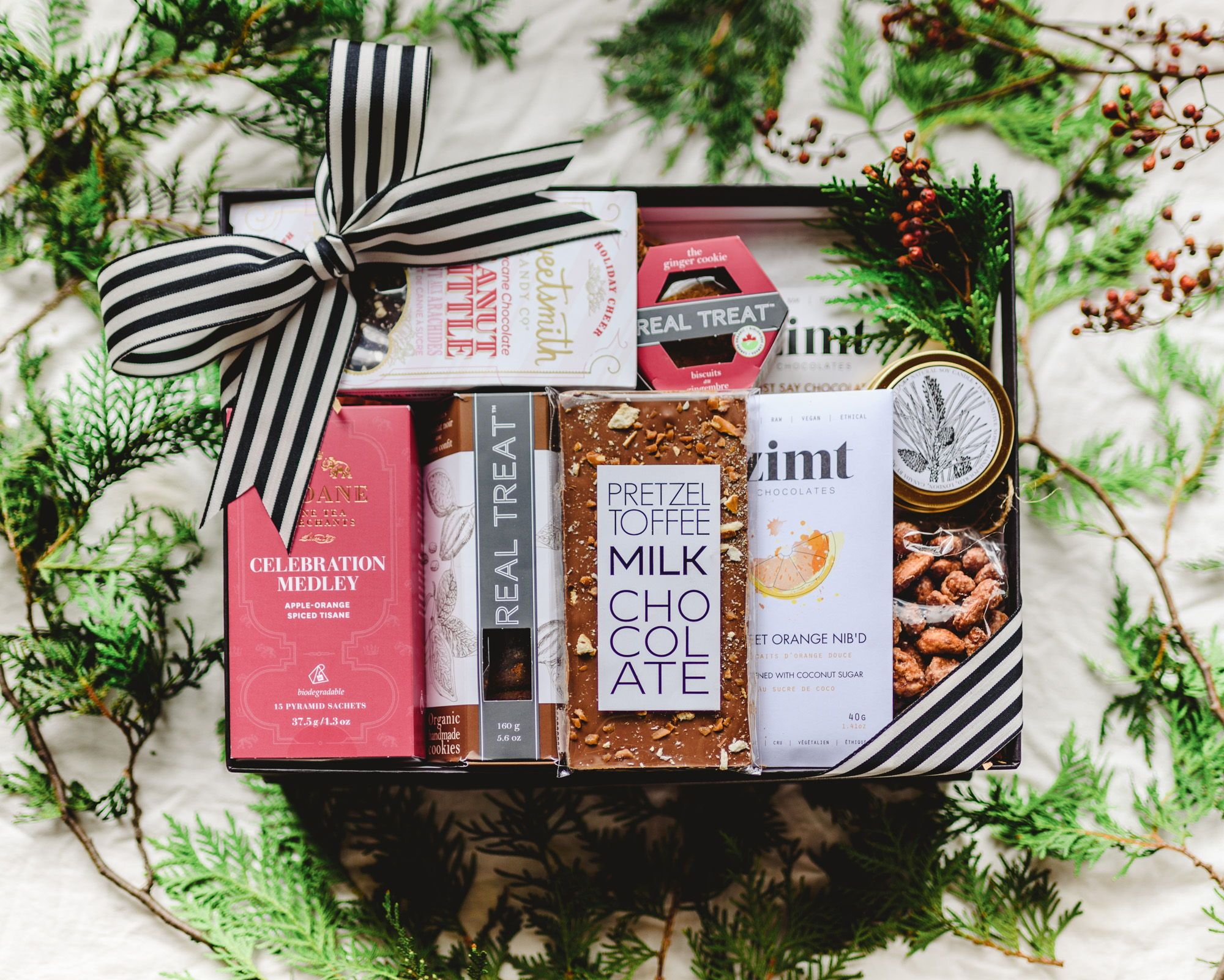 Holiday treats box present day gifts gift boxes for