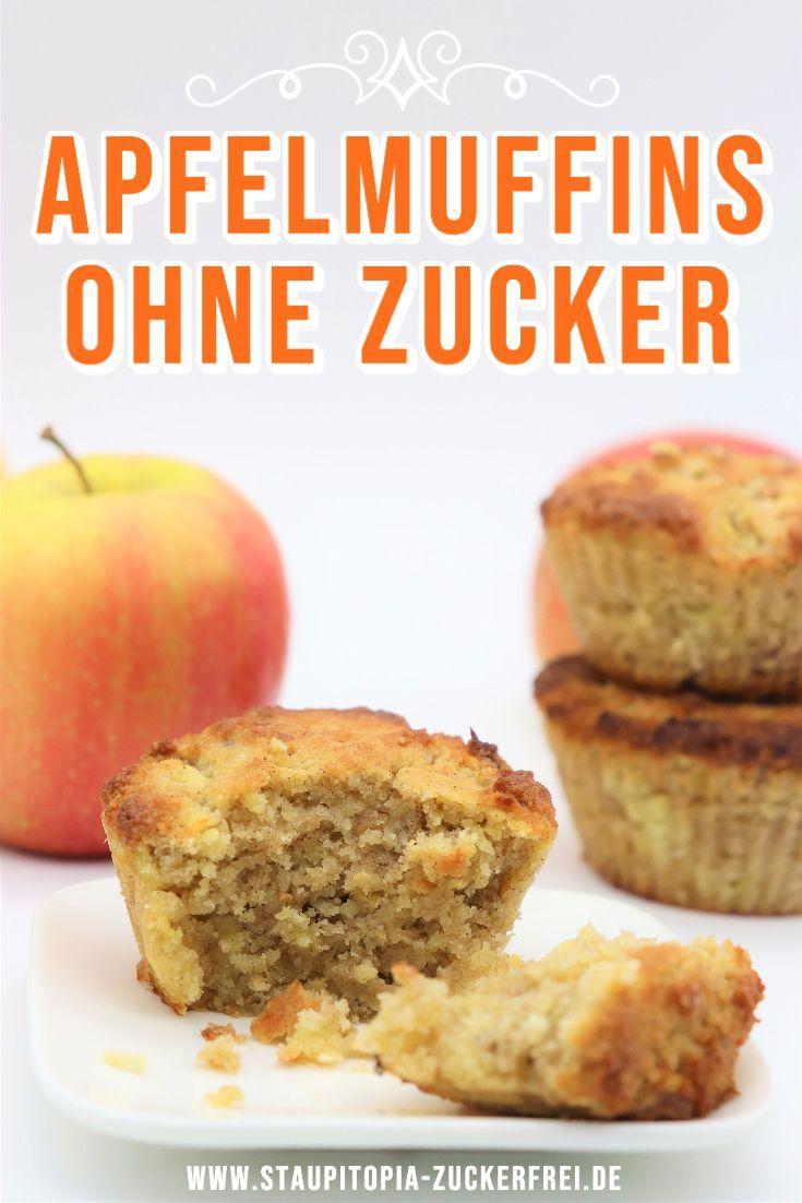 Low Carb Apfelmuffins ohne Zucker