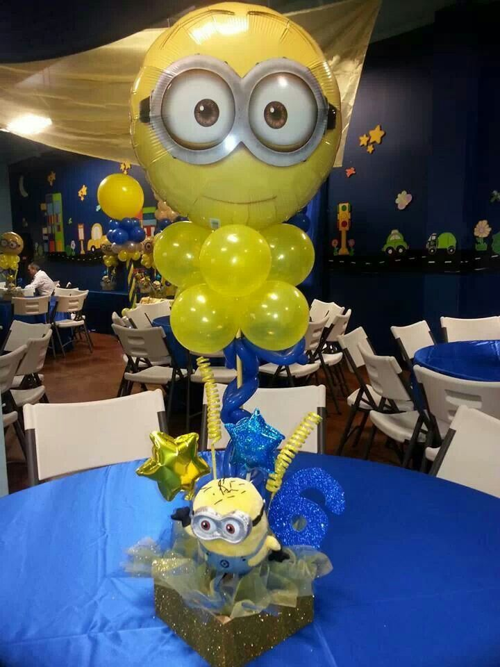 Minions Centerpiece Party Holiday Ideas In 2019 Minions