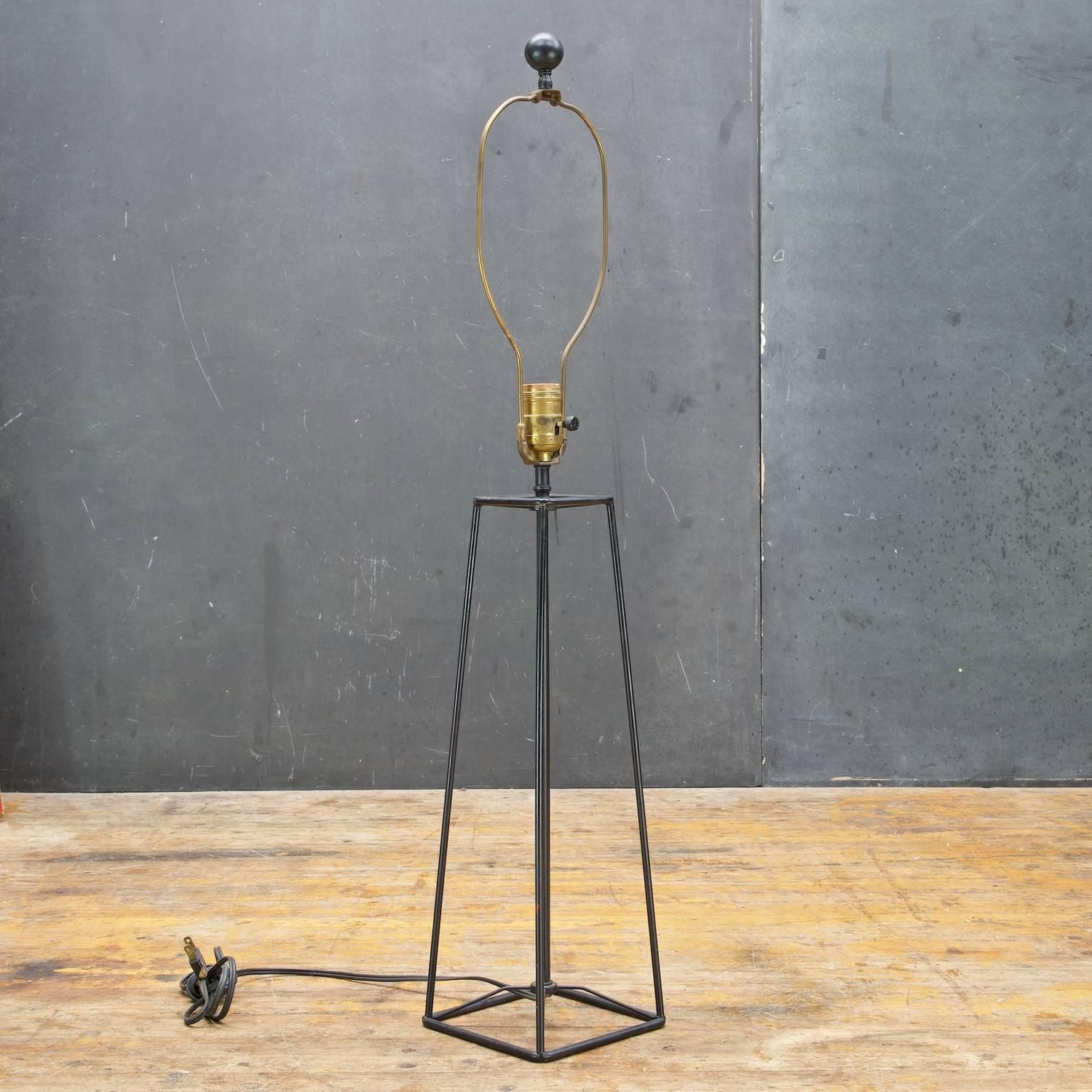 Awe Inspiring Verplex Iron Rod Box Lamp In The Manner Of Harry Lawenda Pdpeps Interior Chair Design Pdpepsorg