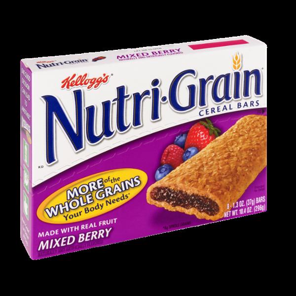 Kellogg's Nutri-Grain Mixed Berry Cereal Bars
