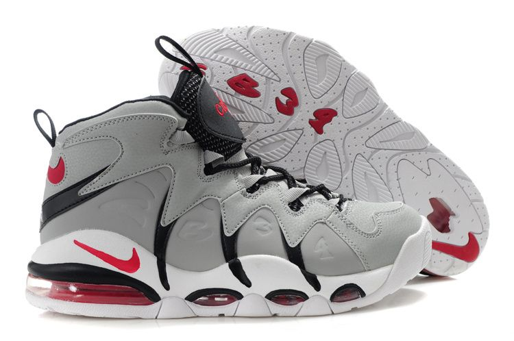 sports shoes 6fb77 cfa5e Nike Air Max CB34 Gray Black - Charles Barkley Shoes