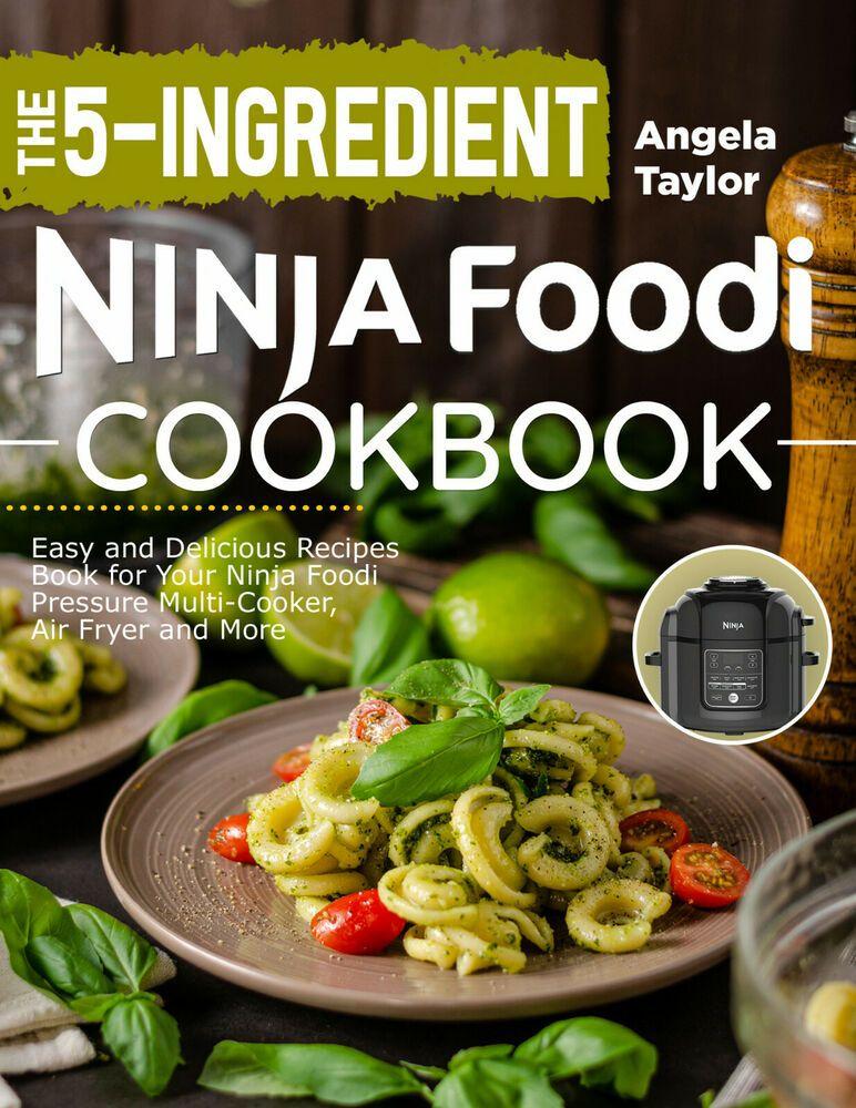 Details about (PDF) The 5Ingredient Ninja Foodi Cookbook