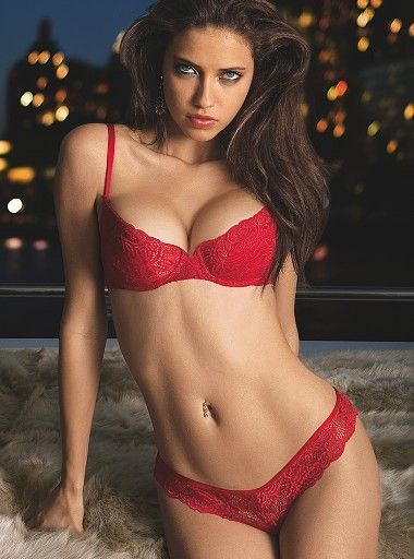 The Red Bra and Panties that Ana is wearing in Christian's ...