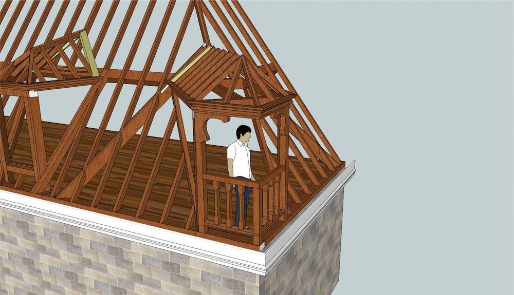 Awesome Corner Dormer Window Attic Remodel Attic Renovation Attic