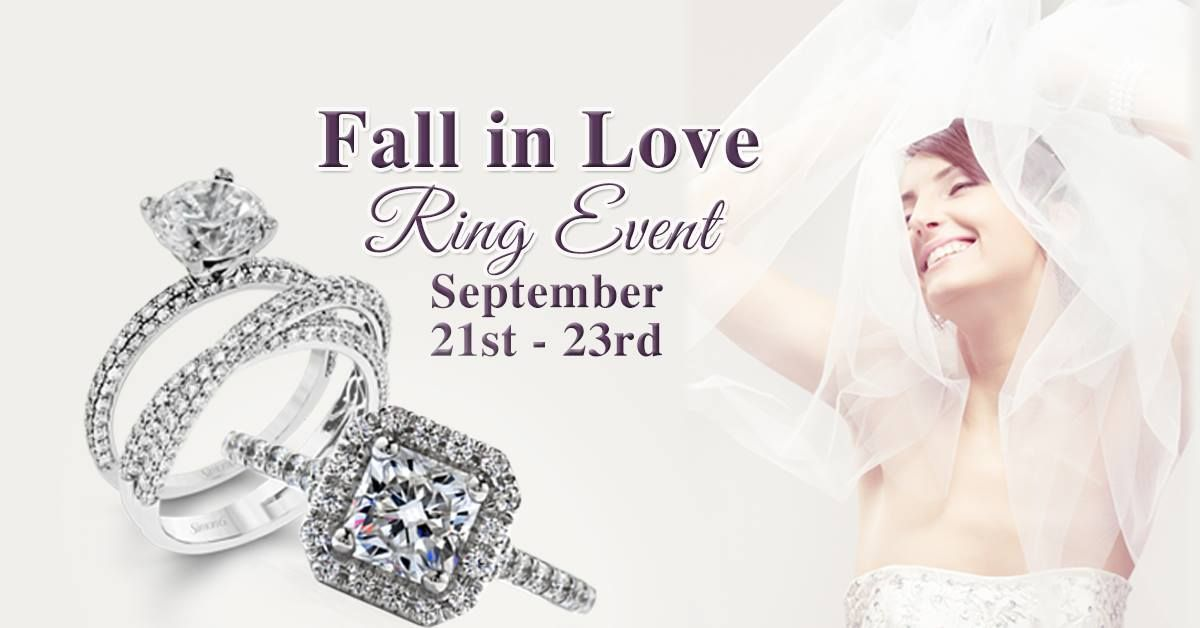 Starting Tomorrow Fall In Love Ring Event Up To 50 Off Plus Receive 100 Gift Card When You Try On An Engagement Ring Love Ring Fine Jewels Fire Heart