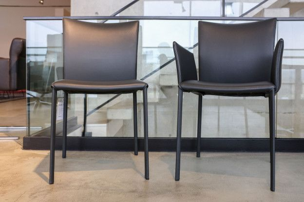 stuhl nobile soft von draenert anthrazit leder sofas sessel st hle pinterest. Black Bedroom Furniture Sets. Home Design Ideas