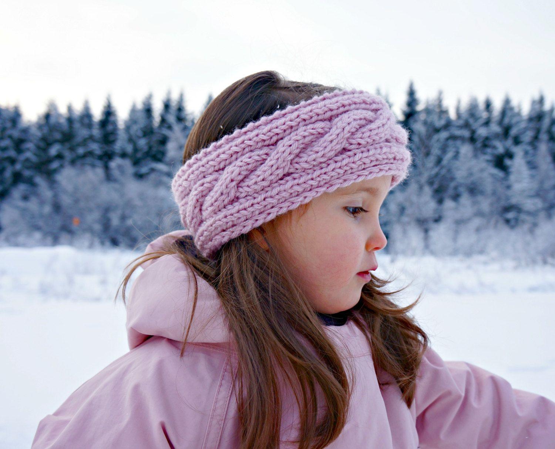 KNITTING PATTERN - The Ava Knitted Headband | Knitted headband