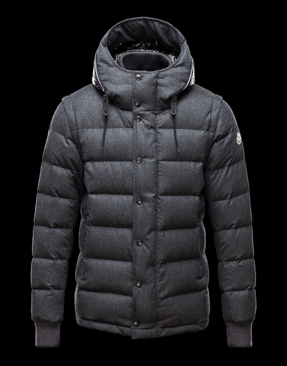 Moncler Hem Grise   Collection Homme   Pinterest   Collection et Hommes 2495c0a072c