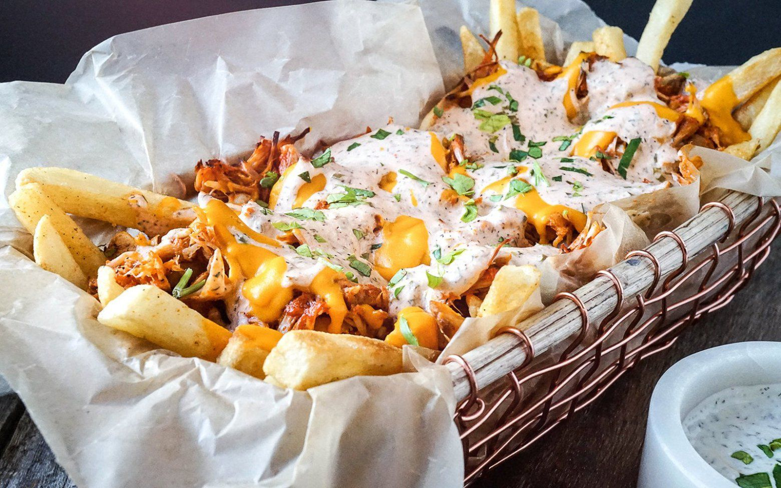 Butter Chicken Poutine - Oh yeah its that good