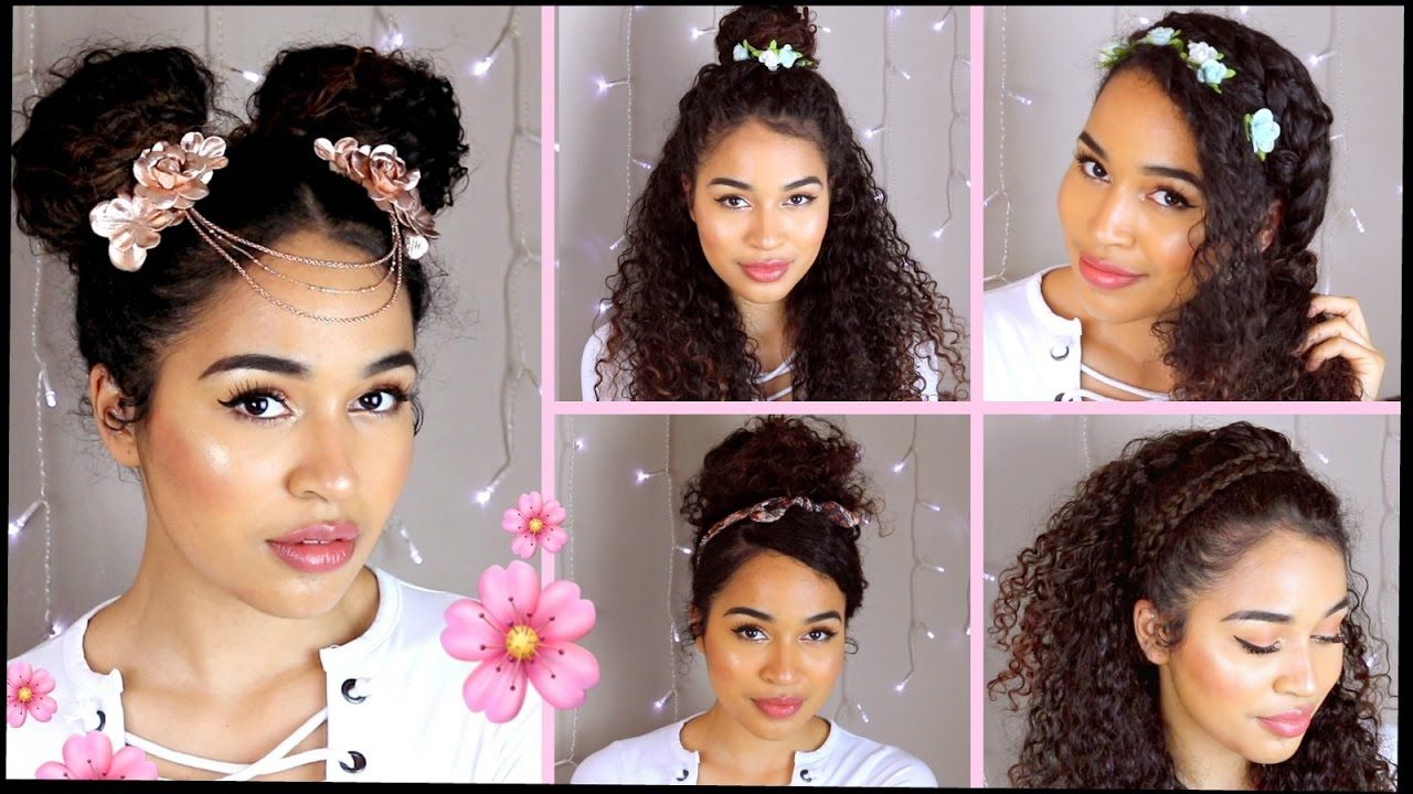 7 Curly Hairstyles For Spring Easter Summer Spring