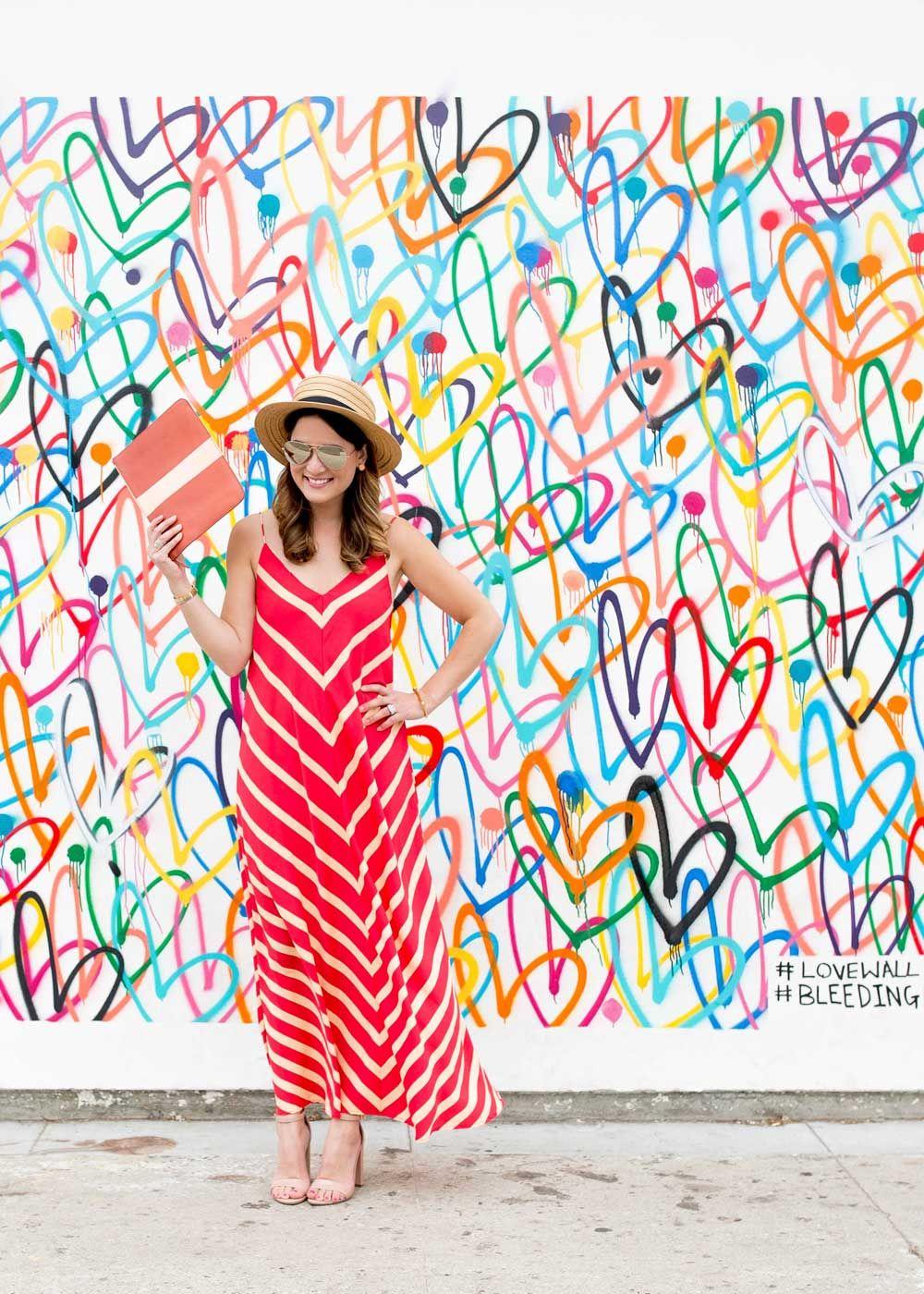 Multicolor bleeding hearts love wall by james goldcrown via jennifer lake wallcharades